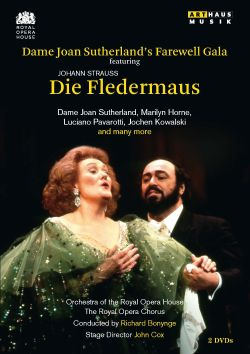 Joan Sutherland - Dame Joan Sutherlands' Farewell Gala featuring Die Fledermaus [Video]