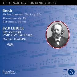 The Romantic Violin Concerto, Vol. 19: Bruch