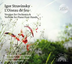 Igor Stravinsky: L'Oiseau de feu - Version for Orchestra & Version for Piano Four Hands