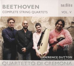 Quartetto di Cremona / Lawrence Dutton - Beethoven: Complete String Quartets, Vol. 5
