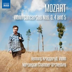 Mozart: Violin Concertos Nos. 3, 4 and 5