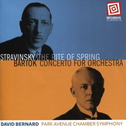 Stravinsky: The Rite of Spring; Bartok: Concerto for Orchestra