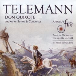 Don Quixote: Concertos and Suites by Telemann