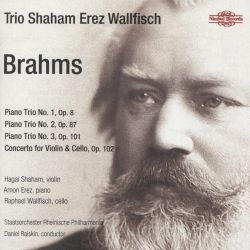 Brahms: Piano Trio No. 1, Op. 8; Piano Trio No. 2, Op. 87; Piano Trio No. 3, Op. 101; Concerto for Violin & Cello, Op. 102