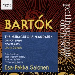 Bartók: The Miraculous Mandarin; Dance Suite; Contrasts