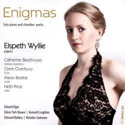 Enigmas: Solo piano and chamber works