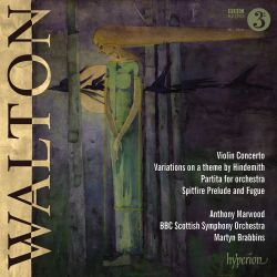 Walton: Violin Concerto; Variations on a Theme by Hindemith; Partita; Spitfire Prelude & Fugue