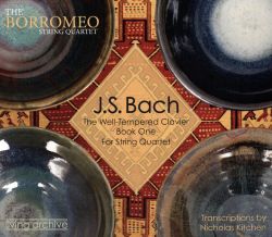 J.S. Bach: The Well-Tempered Clavier Book One for String Quartet