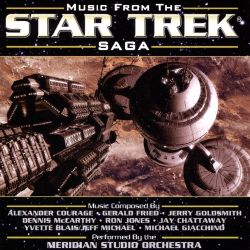Meridian Studio Orchestra - Music from The Star Trek Saga, Vol. 1