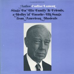 Corliss Lamont - Corliss Lamont Sings for His Family and Friends