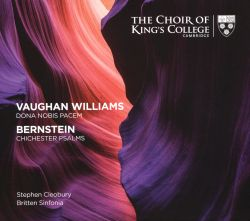 Vaughan Williams: Dona Nobis Pacem; Bernstein: Chichester Psalms