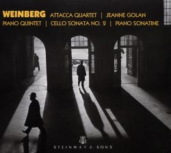 Weinberg: Piano Quintet; Cello Sonata No. 2; Piano Sonatine