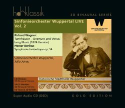 Sinfonieorchester Wuppertal LIVE, Vol. 2: Wagner, Berlioz