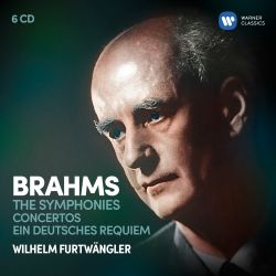 Brahms: The Symphonies; Concertos; Ein deutsches Requiem