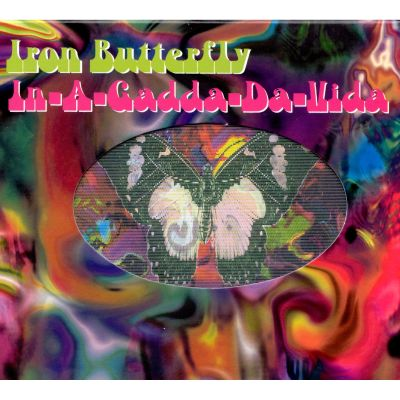 In-a-gadda-da-vida. Deluxe edition + booklet by iron butterfly.