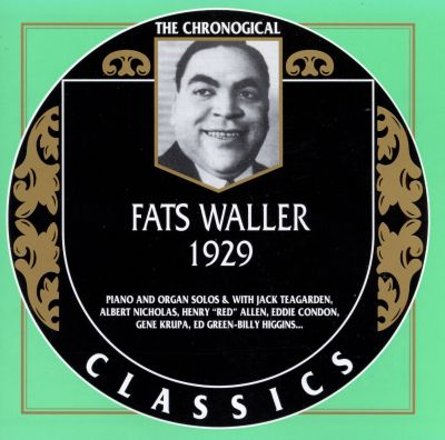 1929 - Fats Waller | Songs, Reviews, Credits, Awards ...