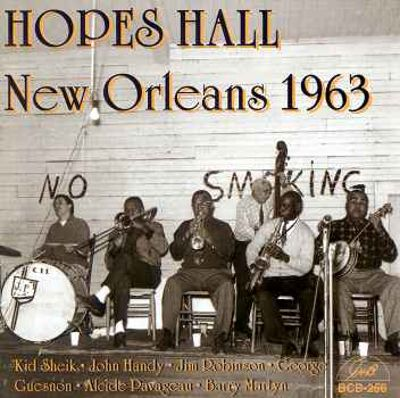 Hopes Hall New Orleans 1963