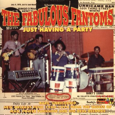 Just Having a Party: Rare New Orleans Funk from the Vaults