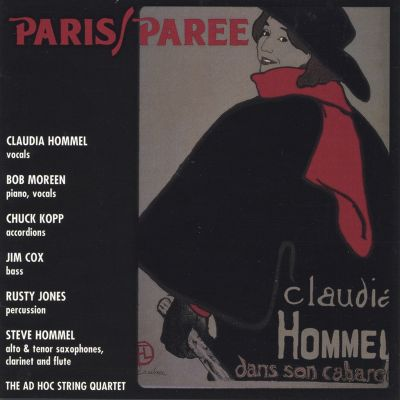 Paris/Paree: Claudia Hommel Dans Son Cabaret