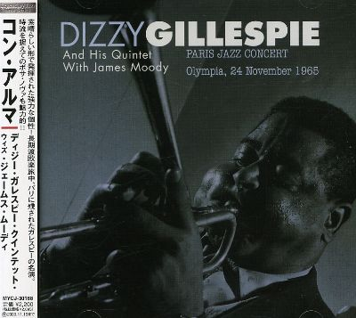 Image result for dizzy gillespie and james moody paris concert