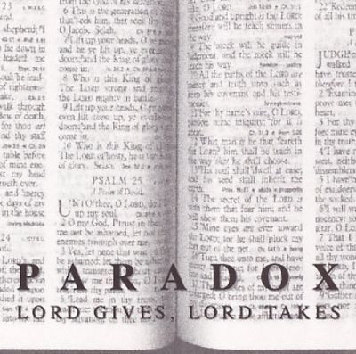 Lord Gives Lord Takes