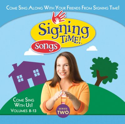 Signing Time Songs Series Two Vol. 8-13