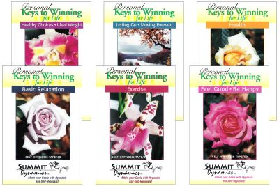 Complete Personal Keys To Winning For Life Hypnosis Series