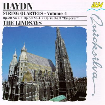 Haydn: String Quartets, Volume 4