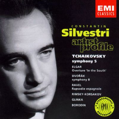 "Tchaikovsky: Symphony No. 5; Elgar: Overture ""In the South""; Dvorak: Symphony No. 8; Ravek: Rapsodie Espagnole; etc."