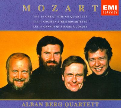 Mozart: The Ten Great String Quartets