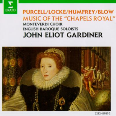 """Music of the """"Chapels Royal"""" of England"""