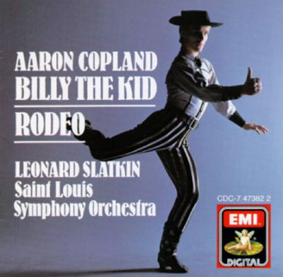 Aaron Copland: Billy the Kid; Rodeo