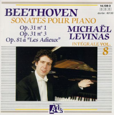 Beethoven: Sonates pour Piano, Opp. 31 & 81a