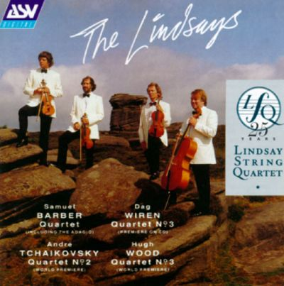 "25 Years: Lindsay String Quartet ""Live"""