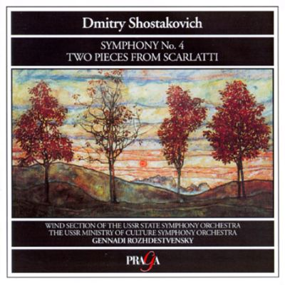 Dmitry Shostakovich: Symphony No. 4; Two Pieces from Scarlatti