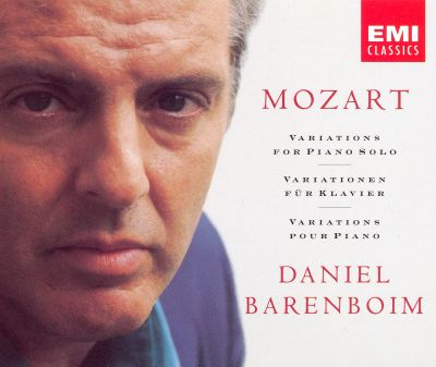 Mozart: Variations for Solo Piano