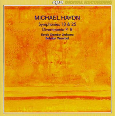 Haydn: Symphony No.18 & 25/Divertimento In G