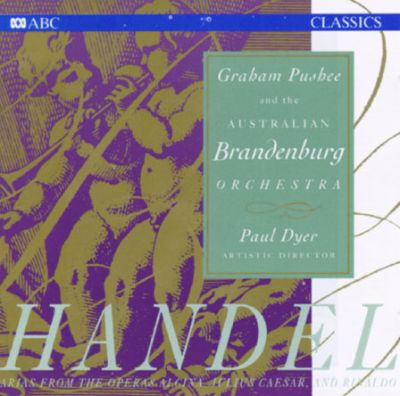 George Frideric Handel: Arias and Instrumental Music