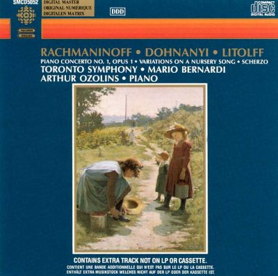 Works for Piano and Orchestra by Rachmaninov, Dohnanyi and Litolff