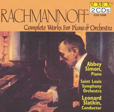 Rachmaninoff: Complete Works for Piano & Orchestra
