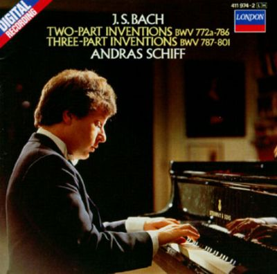 Bach: Two part Inventions; Three Part Inventions
