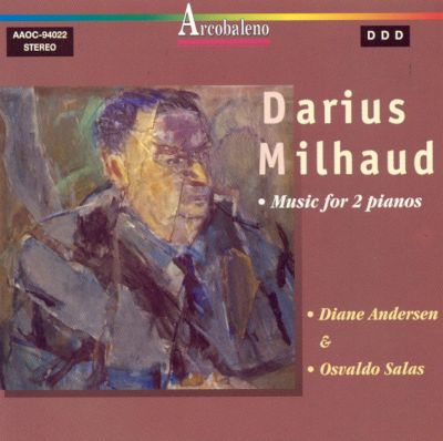 Darius Milhaud: Music for 2 pianos