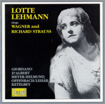 Lotte Lehmann sings Wagner/Richard Strauss