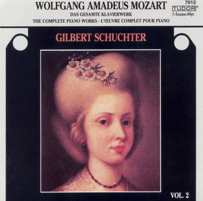 Wolfgang Amadeus Mozart: The Complete Piano Works, Vol. 2