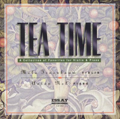 Tea Time: A Collection of Favorites for Violin & Piano