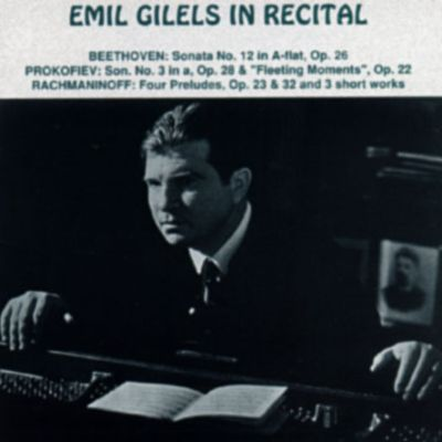 Emil Gilels In Recital