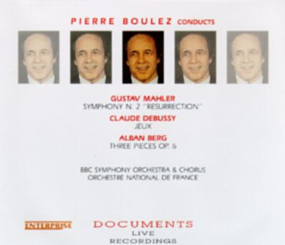 Pierre Conducts Mahler, Debussy, and Berg