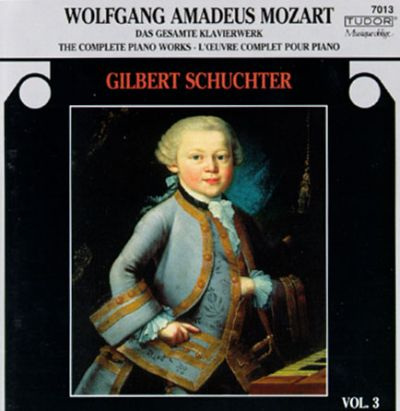 Complete Piano Works Of Mozart, Vol. 3