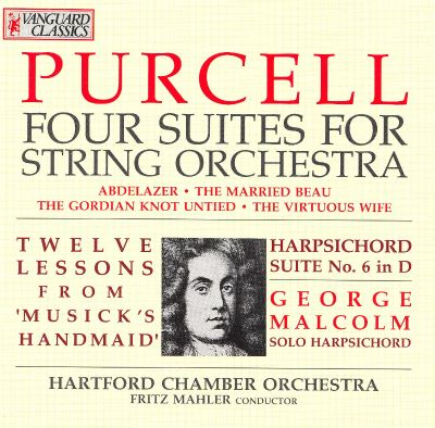 Purcell: Four Suites for String Orchestra