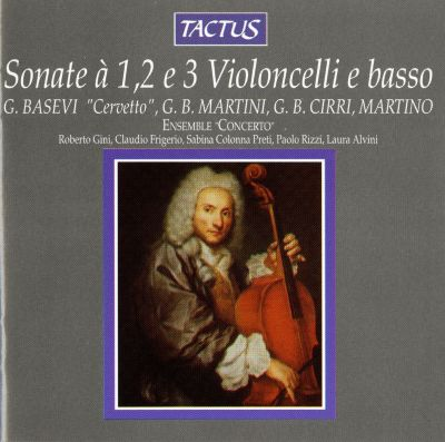 Sonata con Cembalo e Violoncello Obligati in A major